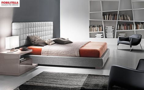 LETTO TURCA + PANCHETTE CLASS, MADE IN ITALY