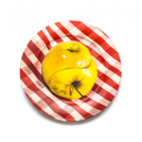 Porcelain Plate  Apple di seletti