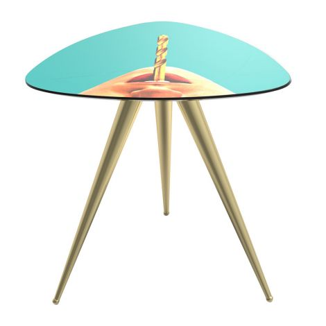 Seletti side table Drill di design.